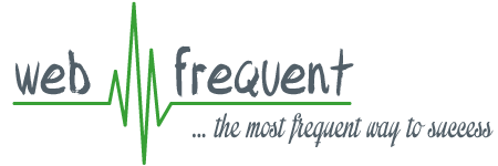 webfrequent | …the most frequent way to success